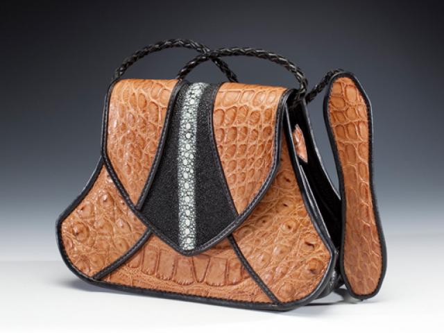 Alligator & Stingray Handbag