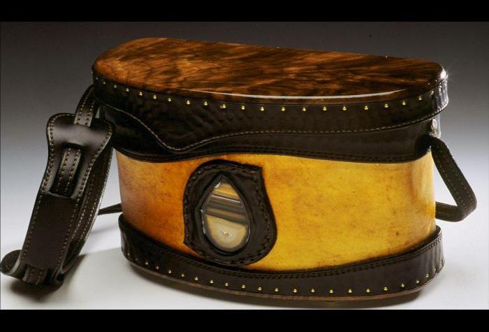 Rawhide & Stone Handbag