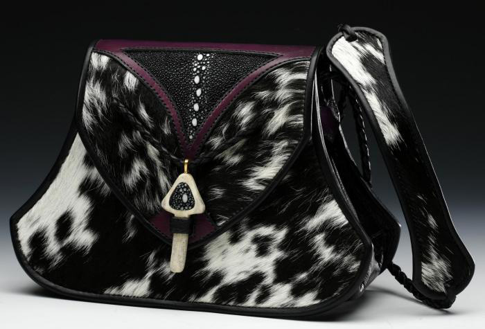 Brazilian Cowhide Handbag