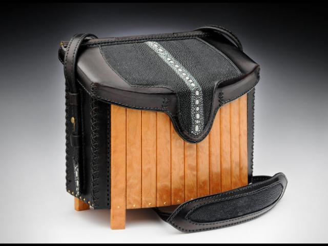 Burl & Stingray Handbag