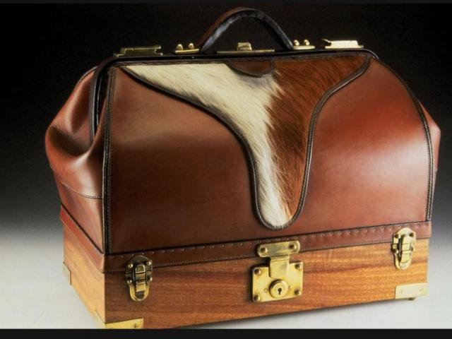 Latigo Leather Doctor Bag