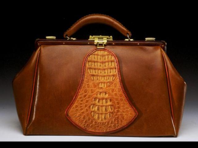 Calfskin Leather Doctor Bag